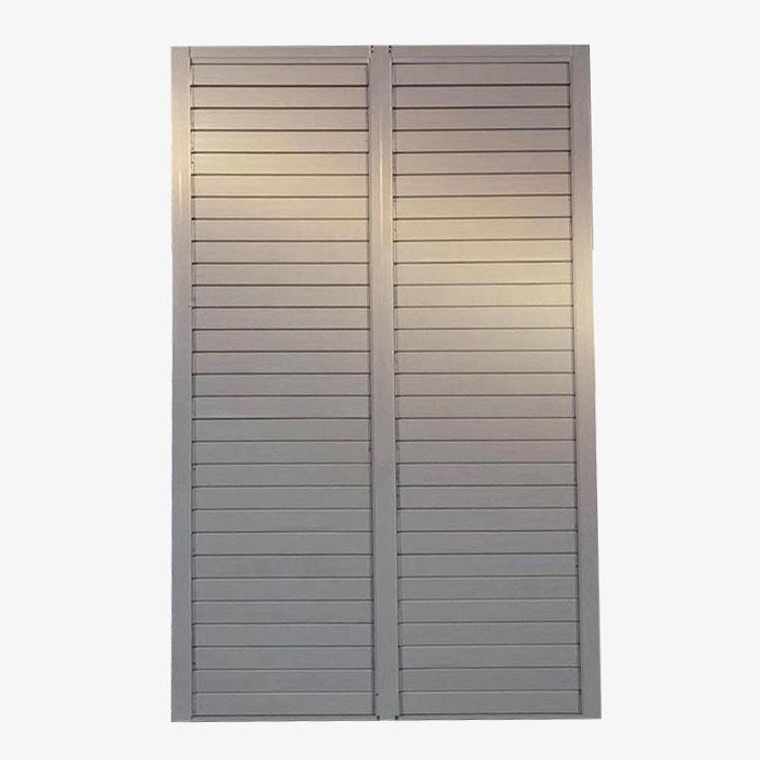 百叶窗内外窗框尺寸测量方法